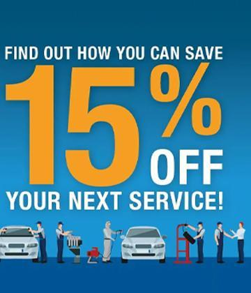 Ford Home 15% Off Service