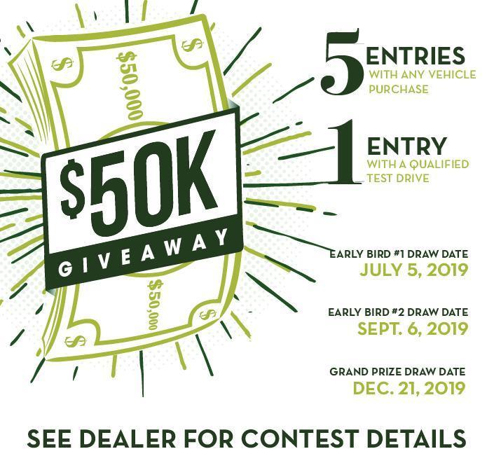 Lakeland Ford 50K Giveaway