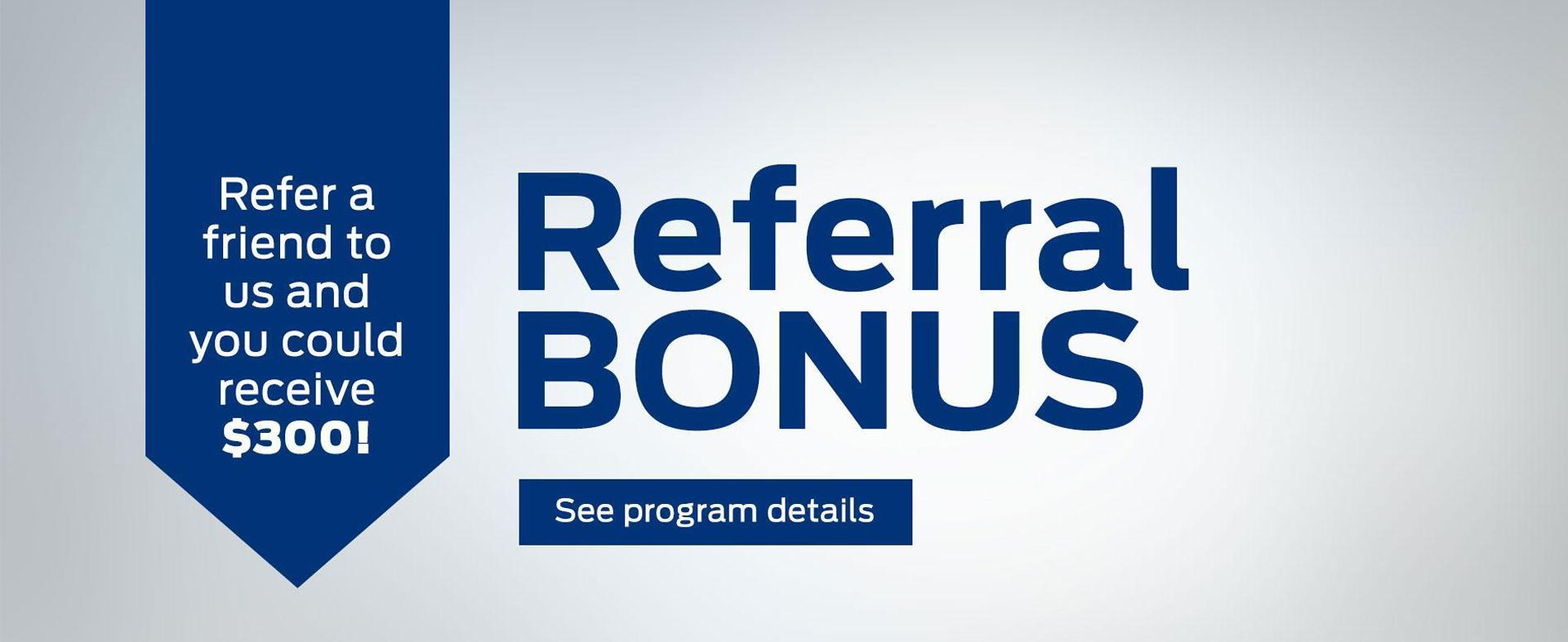 Ford Home Referral Bonus