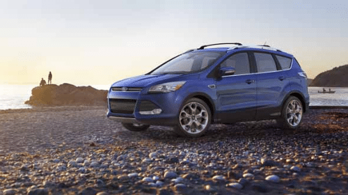 2016 Ford Escape Titanium Exterior Front End