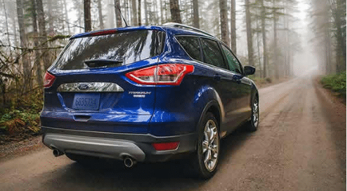 2016 Ford Escape Titanium Exterior Rear End