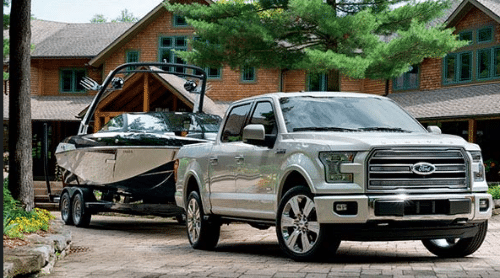 2016 Ford F-150 Limited Exterior Side View