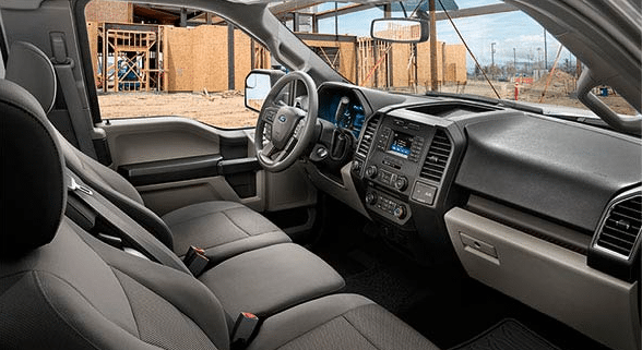 2016 Ford F-150 XL Interior Dashboard
