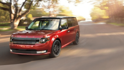 2016 Ford Flex Exterior Front End