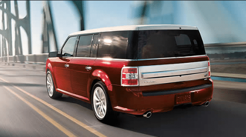 2016 Ford Flex Exterior Rear End