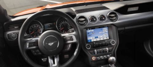 2016 Ford Mustang Shelby Interior Dashboard