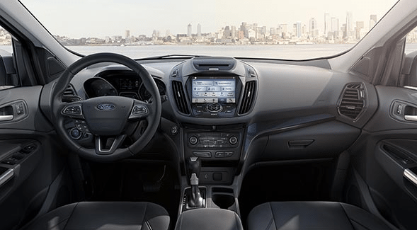 2017 Ford Escape Interior Dashboard
