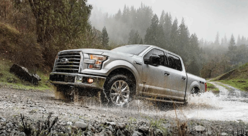 2017 Ford F-150 XL Exterior Side View