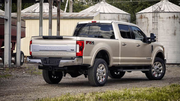 2017 Ford F-250 Super Duty Exterior Rear End