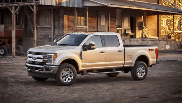 2017 Ford F-250 Super Duty Exterior Side View