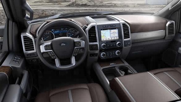2017 Ford F-250 Super Duty Interior Dashboard