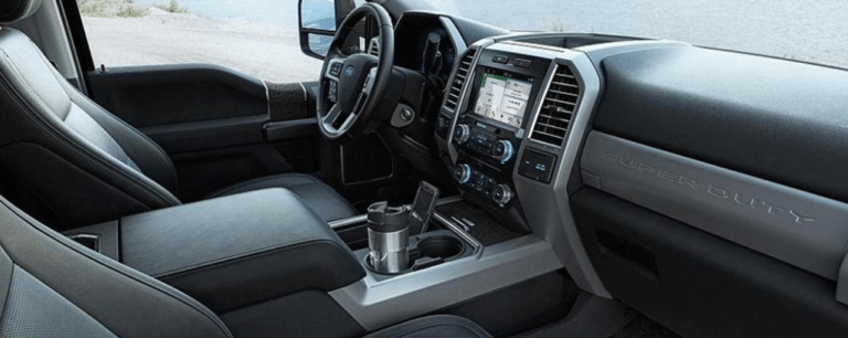2017 Ford F-350 SuperDuty Lariat Interior Dashboard