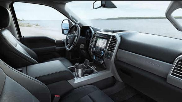 2017 Ford F-350 Super Duty Interior