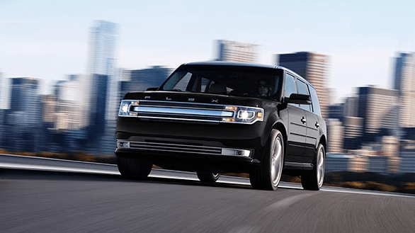 2017 Ford Flex Exterior Front End
