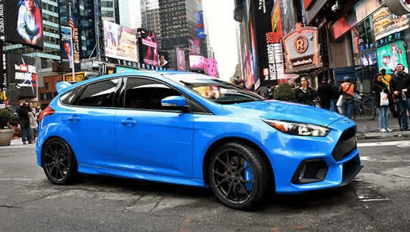 2017 Ford Focus RS Exterior Side View