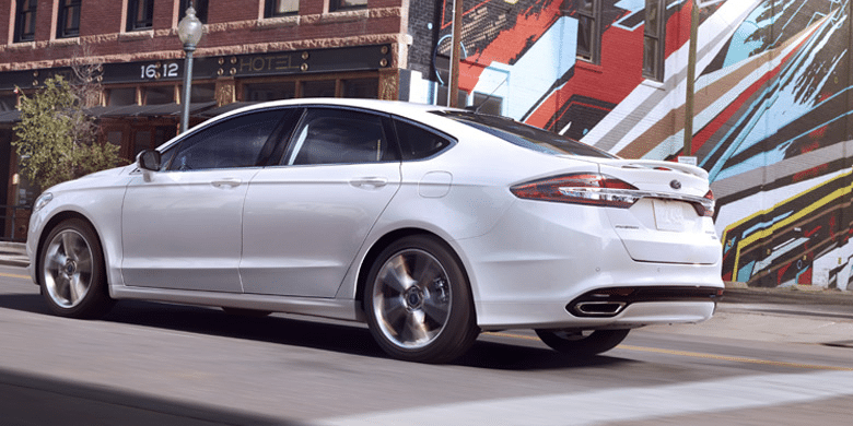 2017 Ford Fusion Exterior Rear End