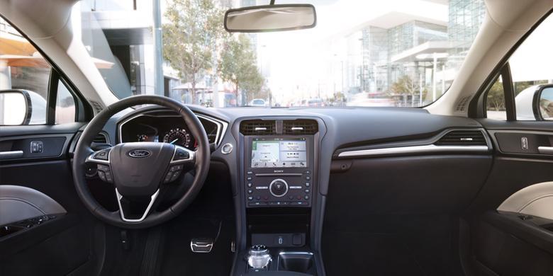 2017 Ford Fusion Interior Dashboard