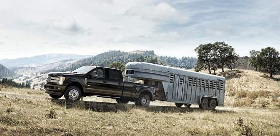 2017 Ford Super Duty Exterior Side View