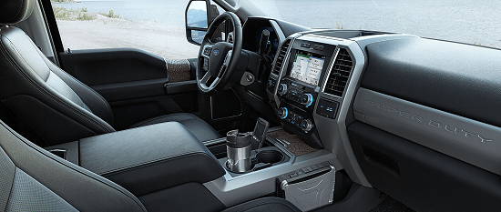 2017 Ford Super Duty Interior