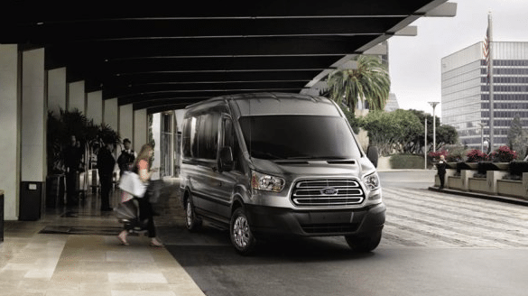 2017 Ford Transit Exterior Front End