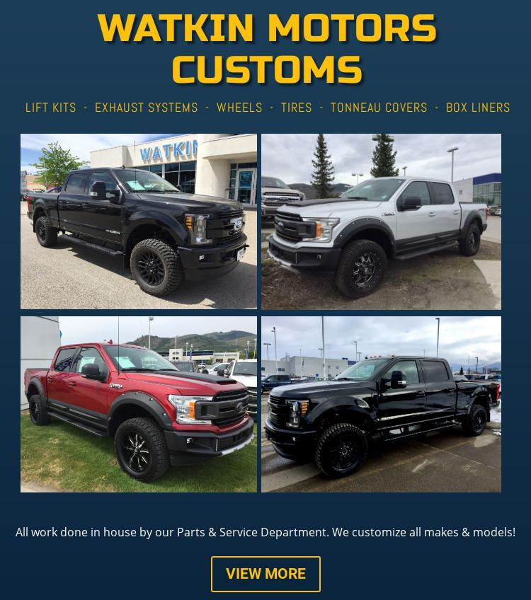 Watkin Motors Customs