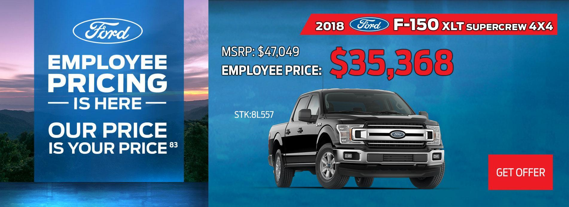 Ford Employee Pricing 2018