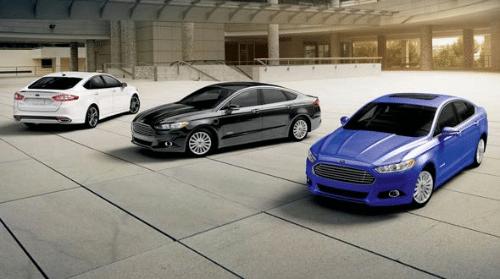2016 Ford Sedan Models