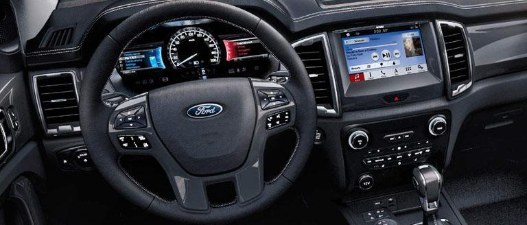 Ford 2019 Ranger Stay Connected. Even Out Here.