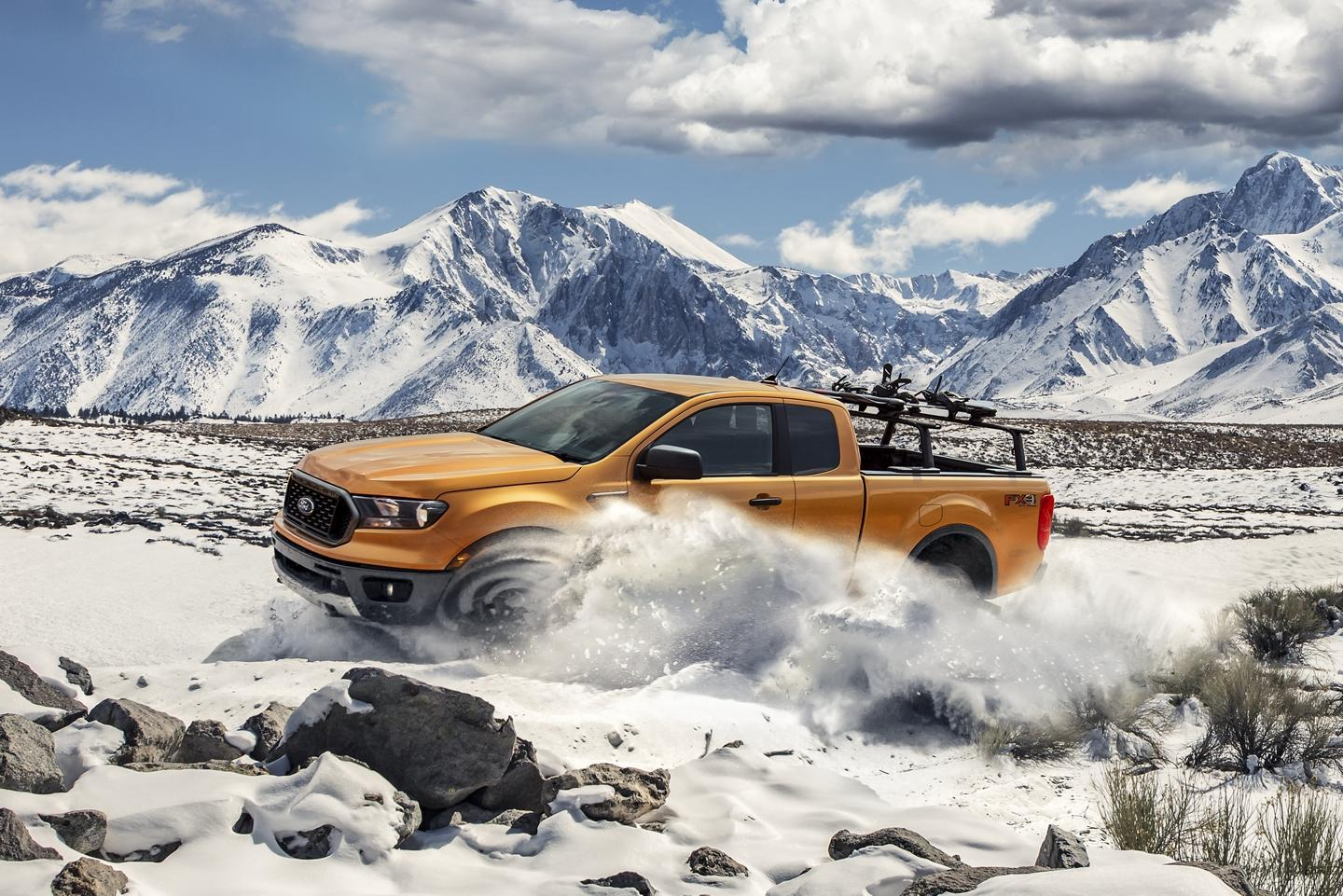 Ford 2019 Ranger Available Terrain Management System