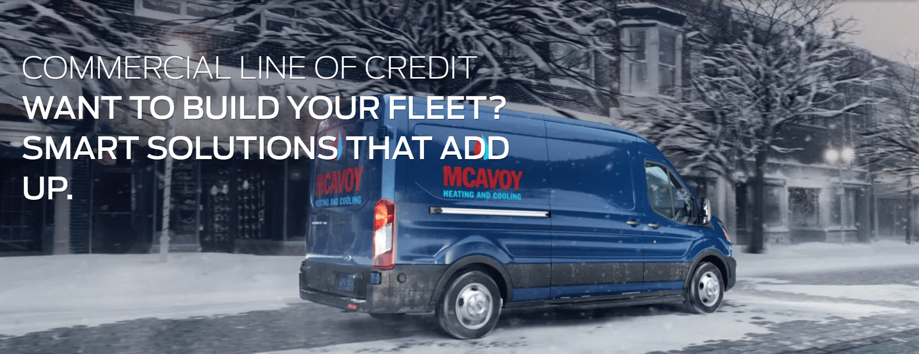 Ford of Canada Commercial Line of Credit