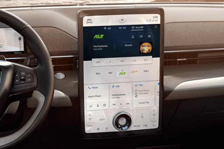 Ford SYNC 4 Sirius XM