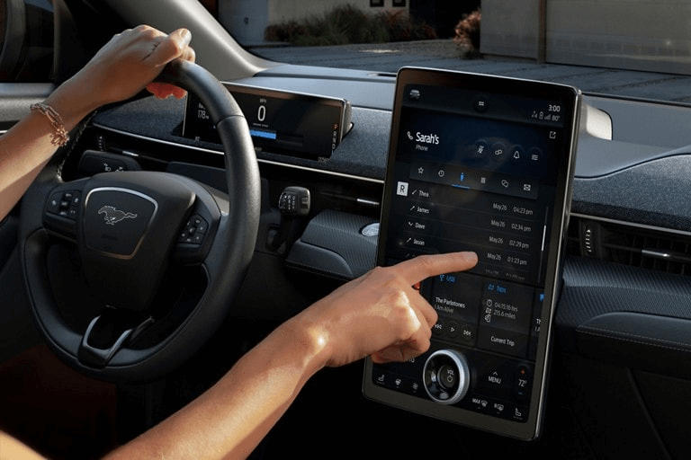 Ford SYNC 4 touchpad