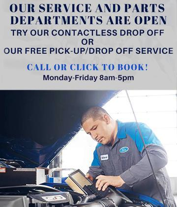 Service pick up and drop off