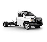 Fleet Ford E-Series Cutaway White