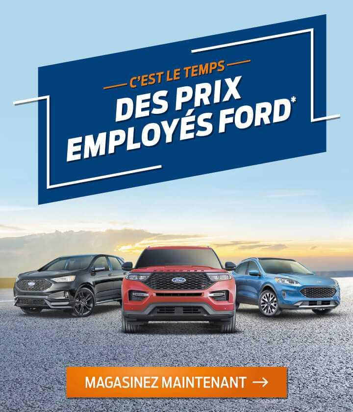 Prix Employés Ford