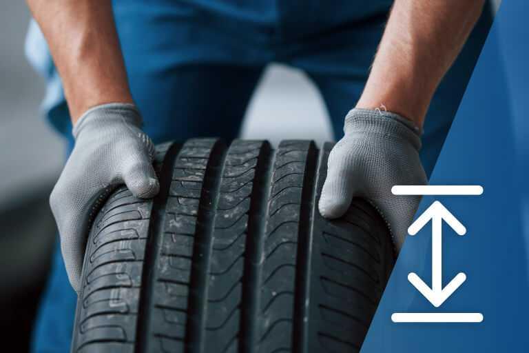 Bien comprendre vos pneus : Profondeur de la semelle de pneu