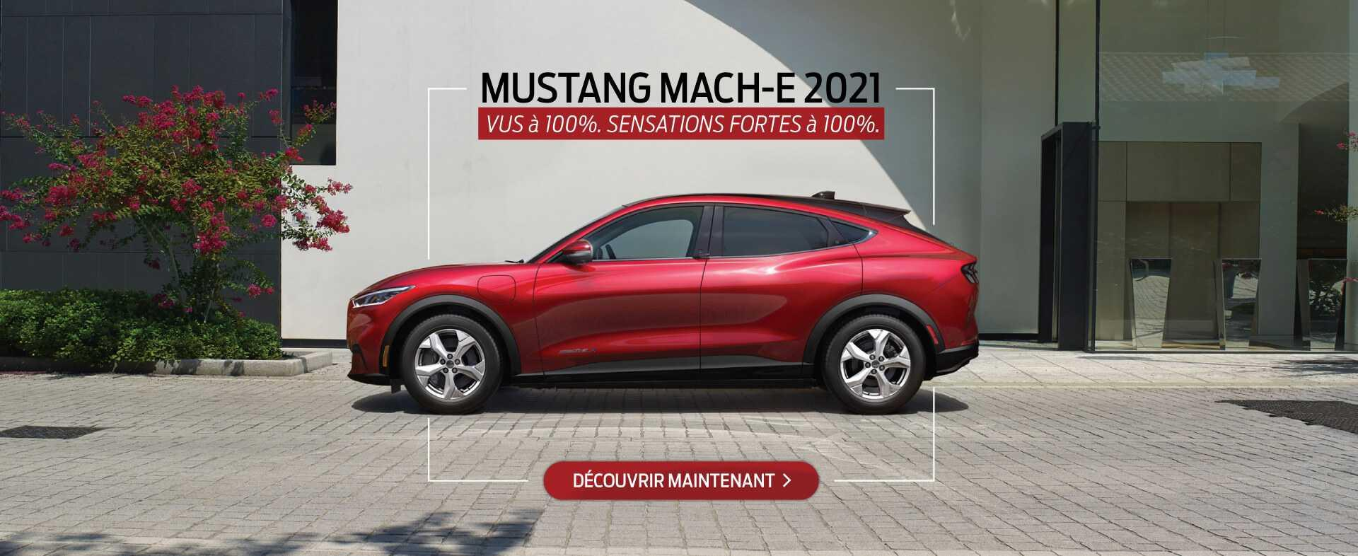 Mustang Mach-E 2021