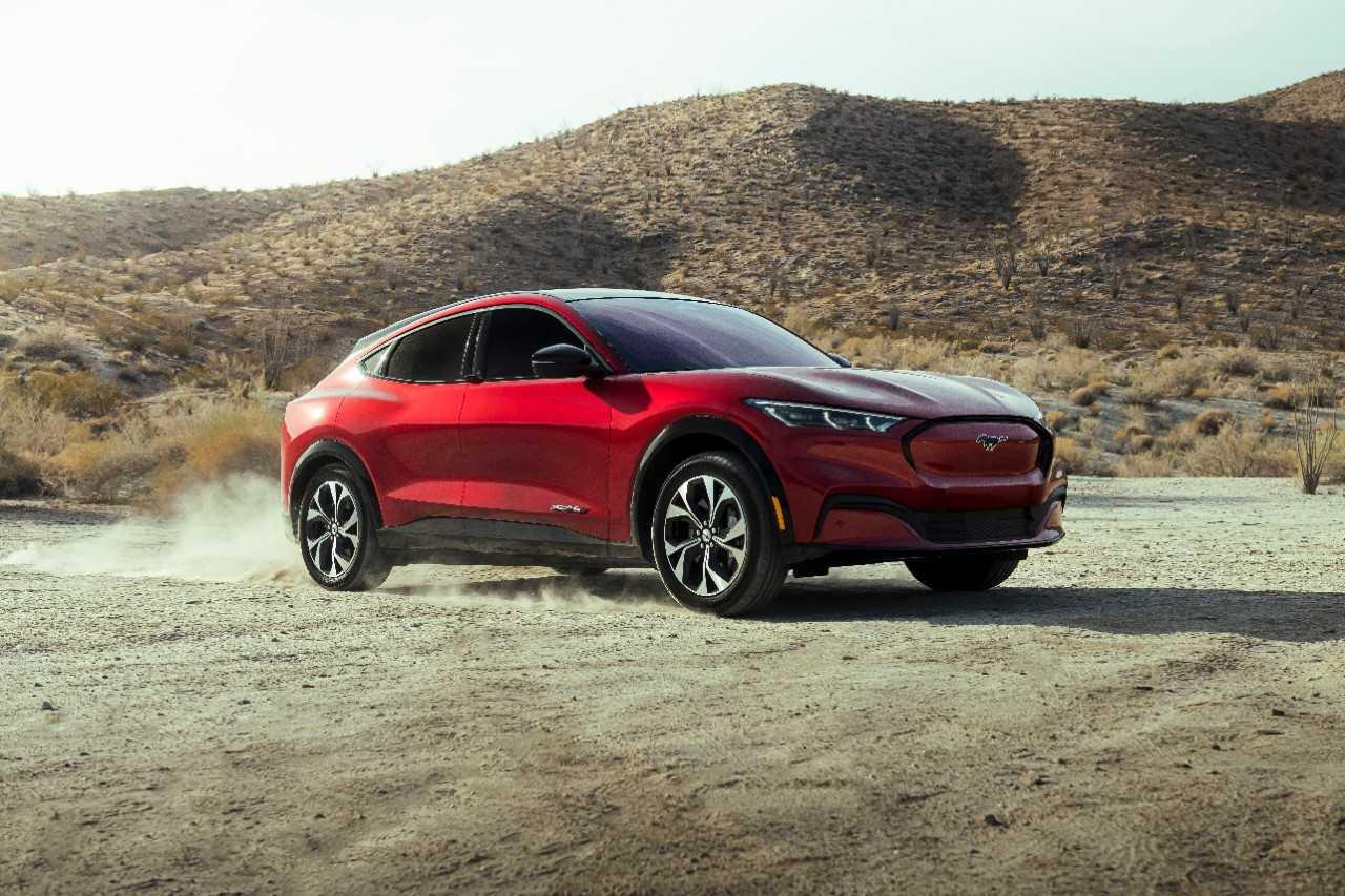 La Mustang Mach E, le VÉ de l'année!