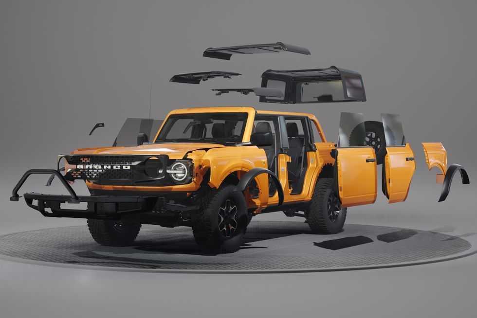 Envie d'un Bronco 2021 à votre image? Ford y a pensé