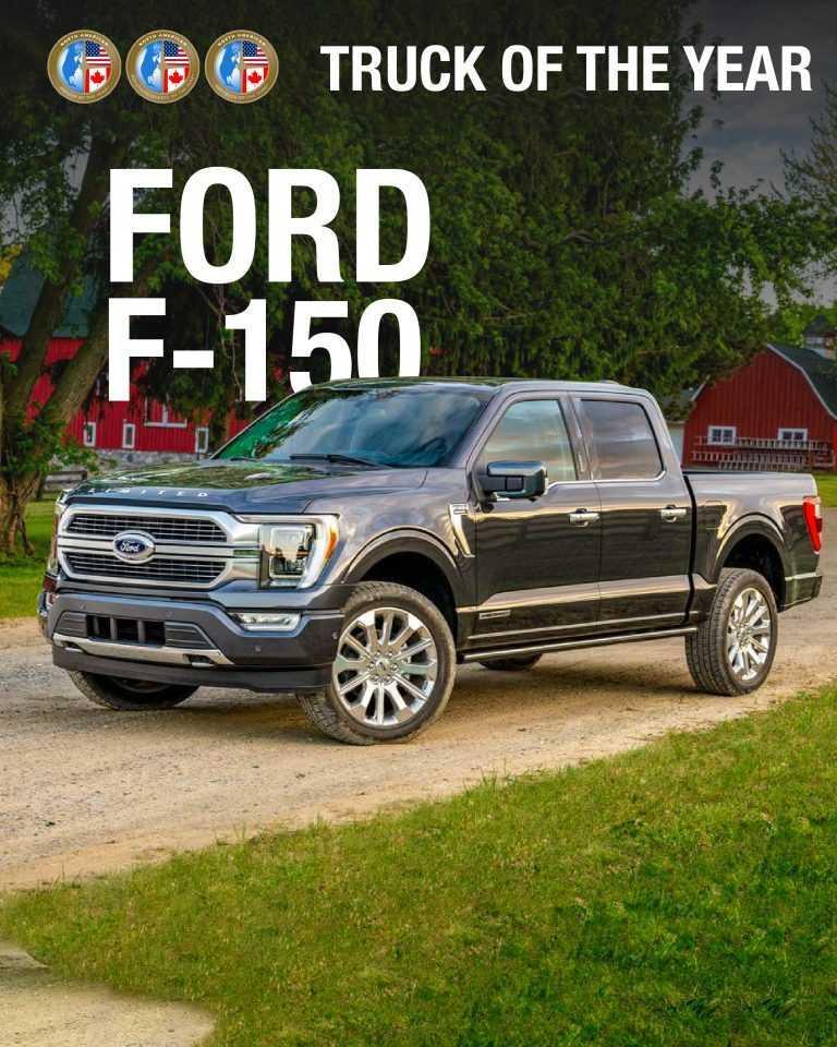 Ford domine les prix nord-américains de l'année