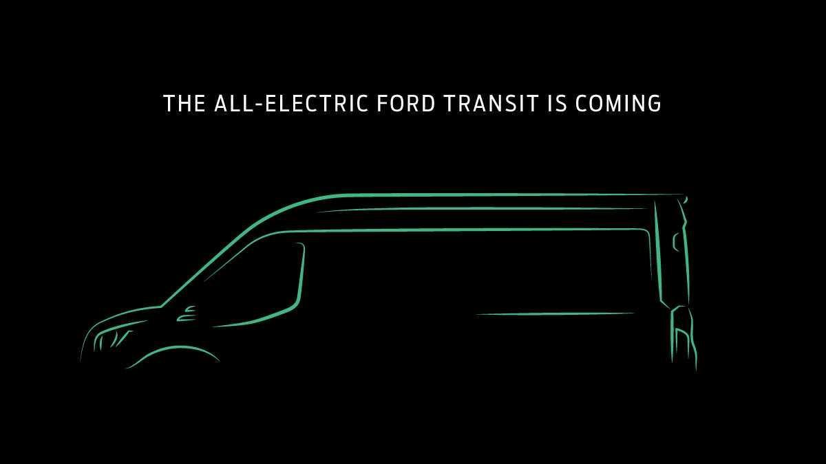 Un Ford Transit électrique arrive bientôt