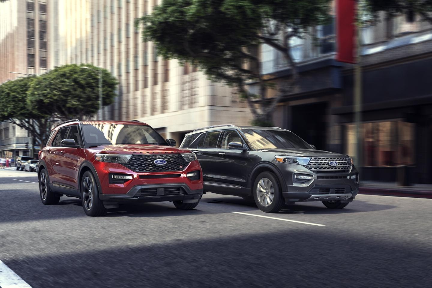 Ford & Lincoln Le Nouveau Explorer 2020 image