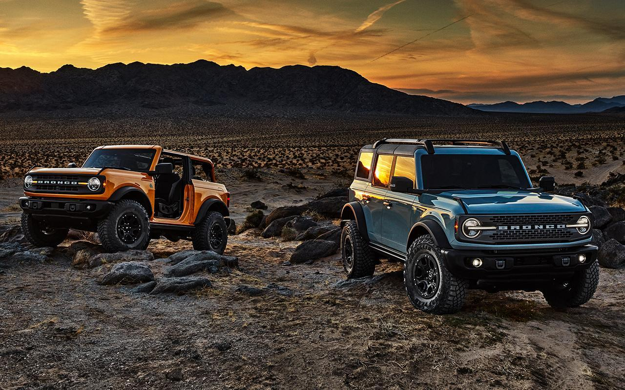 Ford & Lincoln 2021 Bronco image