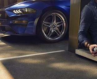 Apply for Credit with Plaza Ford | 2020 Blue Ford Mustang