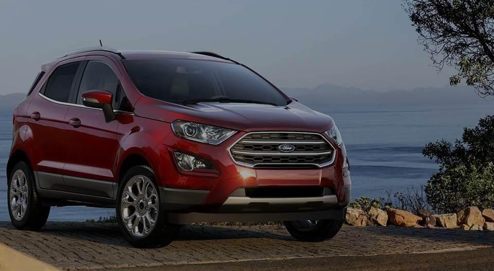 New 2019 Ford Red SUV