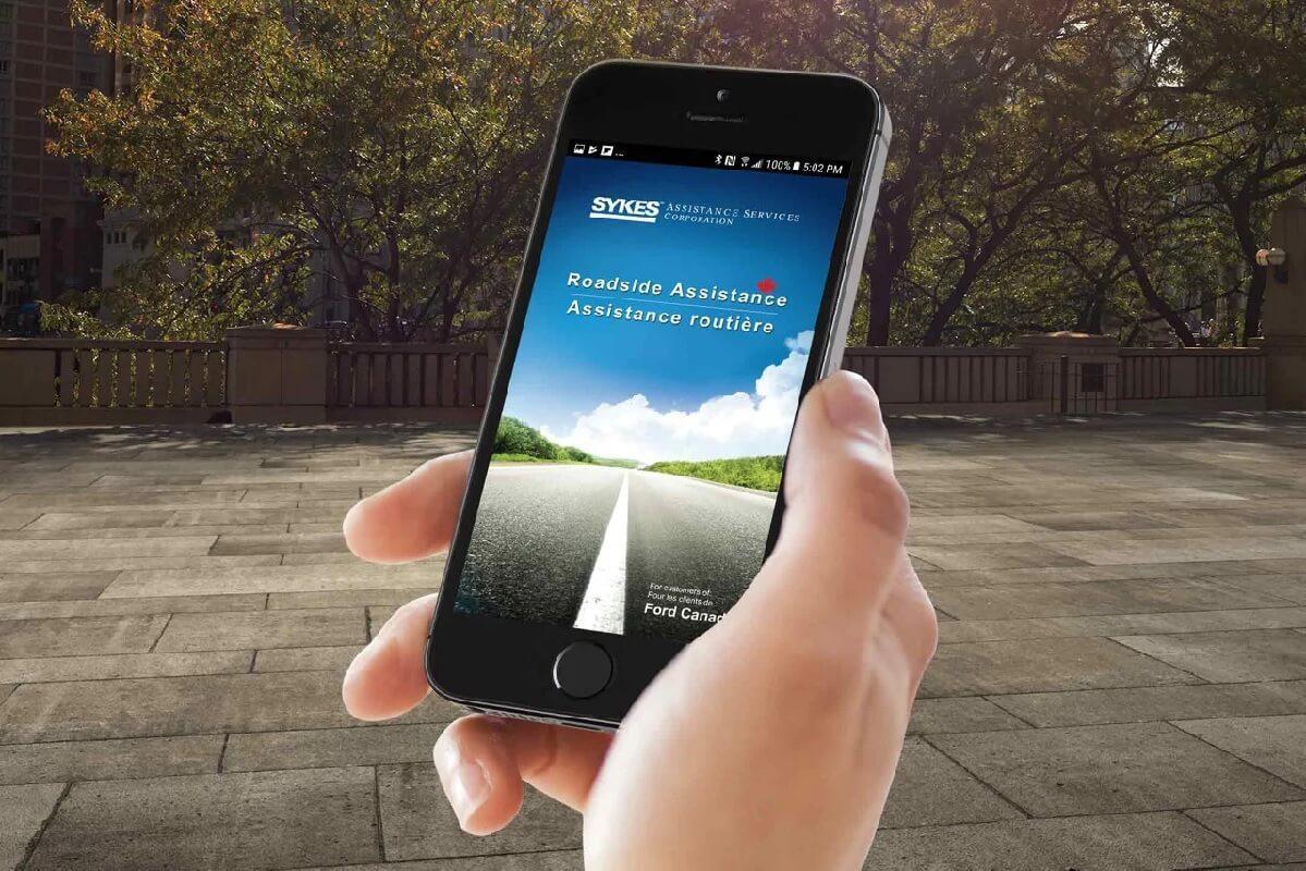 Assistance routière Ford App
