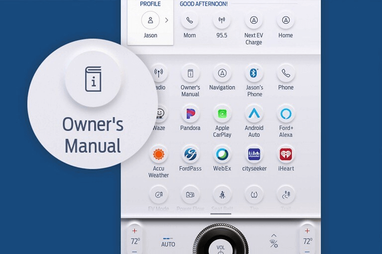 Ford SYNC 4 manuel numérique du propriétaire