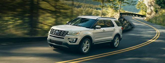 2020 Ford Explorer White