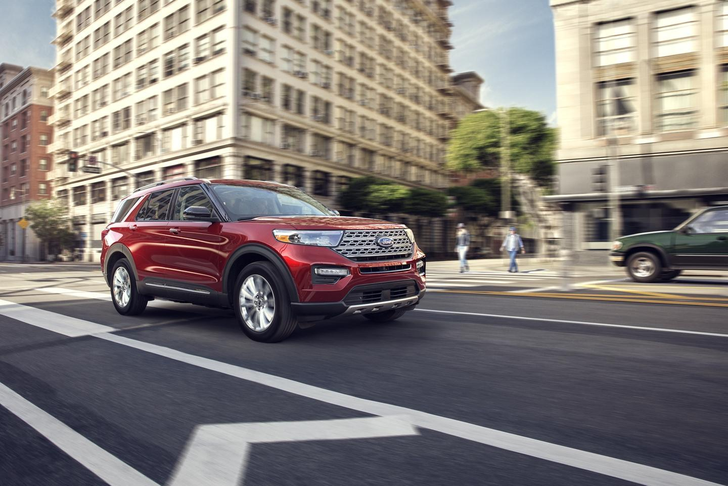 2020 Ford Explorer Overview Ford In Guelph