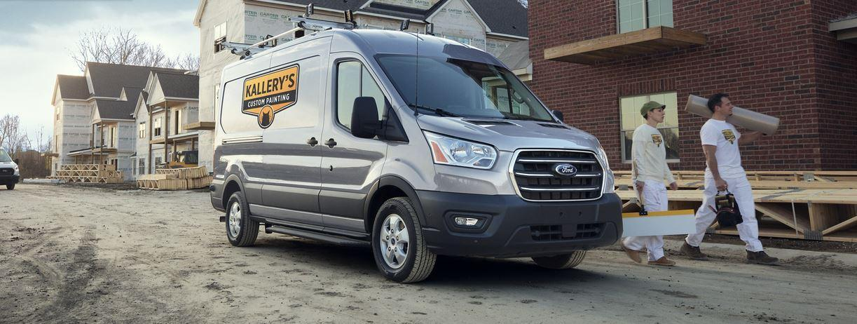 Grey 2020 Ford Transit Van at Wayne Pitman Ford Lincoln in Guelph Ontario
